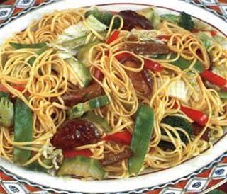 Tallarin saltado tipo chifa ricette culinarie di per for Ricette culinarie
