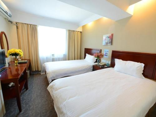 GreenTree Inn Shandong Qingdao Zhengyang Road Jiajiayuan Shopping Center Busines
